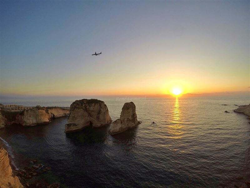 Beirut district   sunsetcaptions  sunsetlovers  sunsetaddiction  clearsky ...
